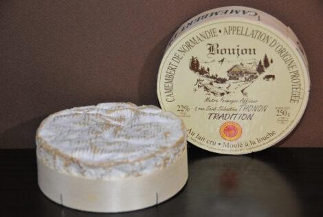Fromage Camembert de Normandie au lait cru AOC