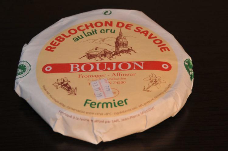 Fromage Reblochon fermier OP