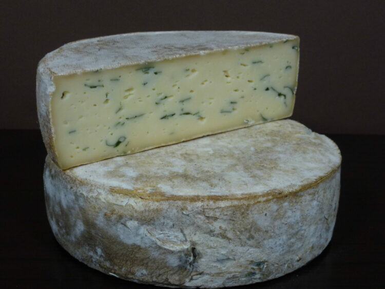 Fromage Tomme ail des ours